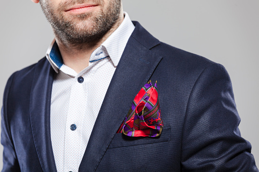 Pocket Square Stock Photo - Download Image Now