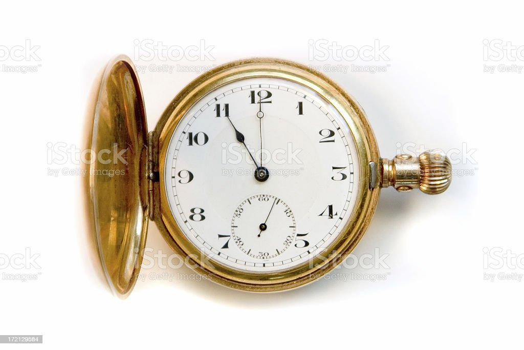 Pocket Watch 1931 - Hi Res stock photo