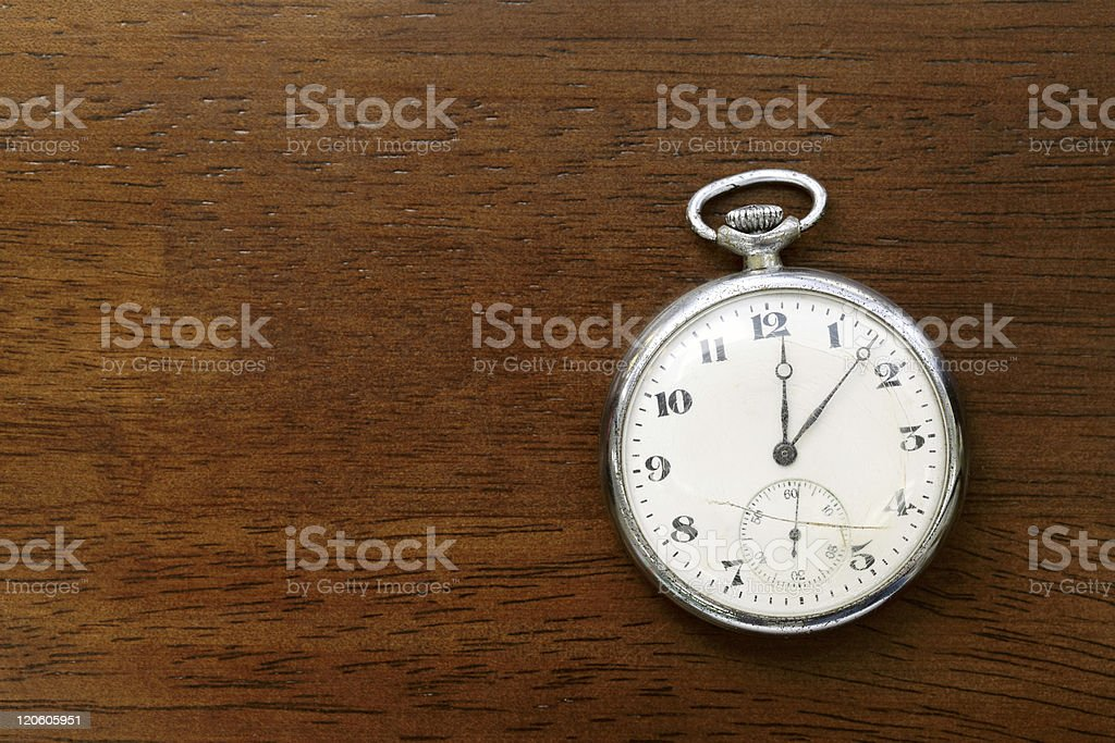 Pocket watch royalty-free stock photo