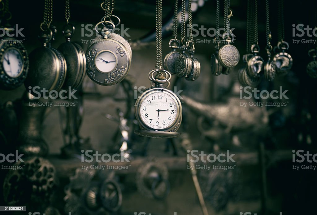 Pocket watches royalty-free stock photo