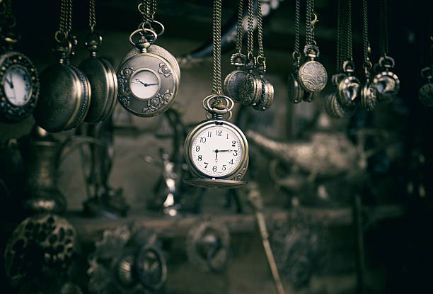 pocket watches - watch timepiece stock photos and pictures