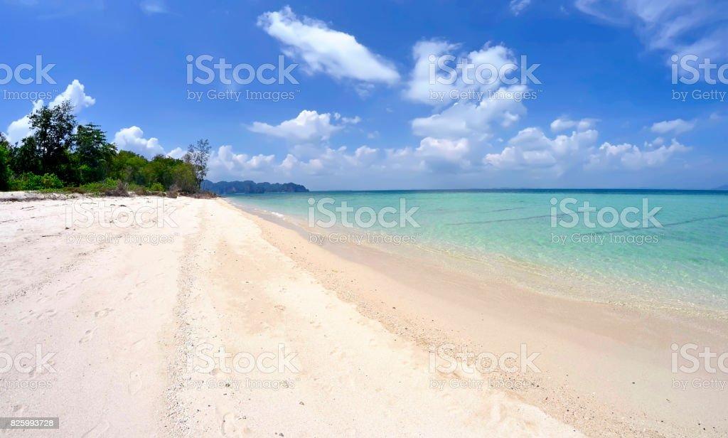 Poda island in the Andaman Sea stock photo