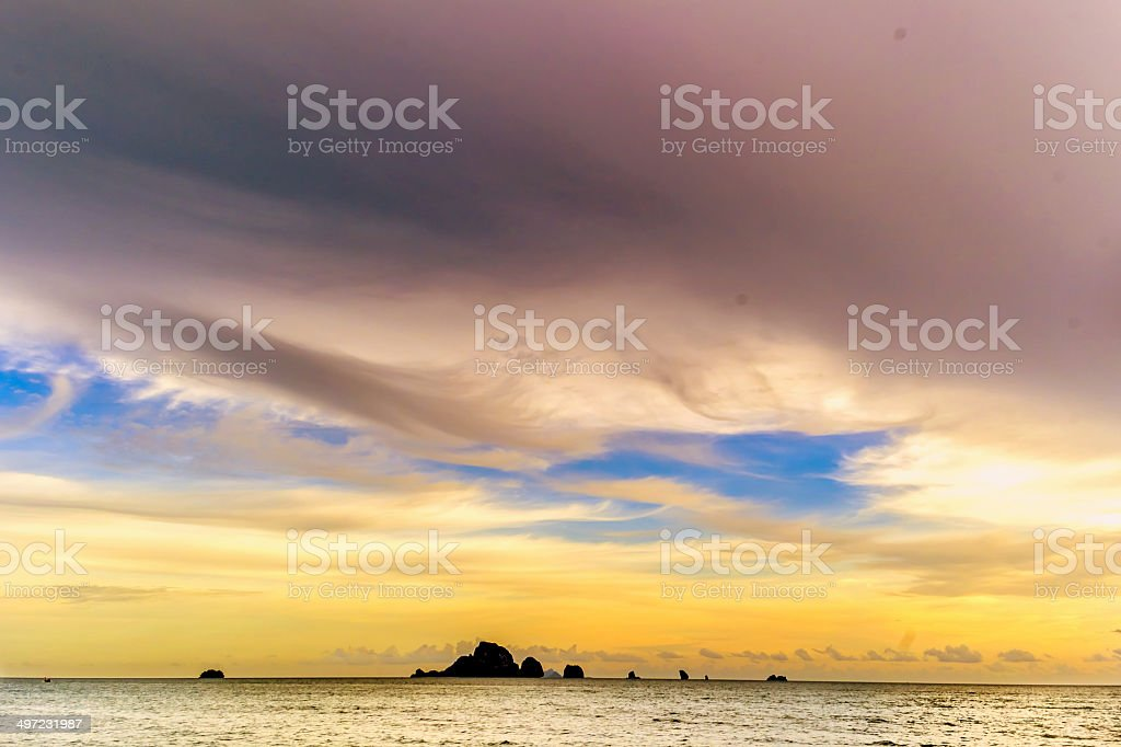 Poda Island royalty-free stock photo