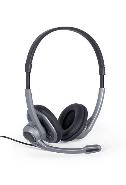 Podcasting Headset stock photo