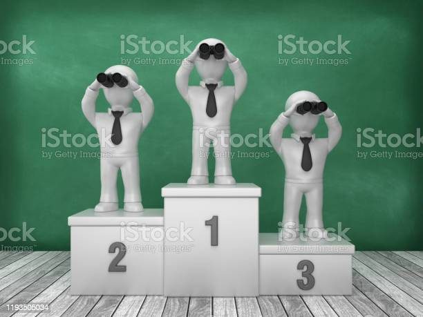 Podium and business characters with binoculars on chalkboard 3d picture id1193505034?b=1&k=6&m=1193505034&s=612x612&h=06y3e8q fqvwhasa2xj lqgyschfeqzhwrr5kfps6v4=