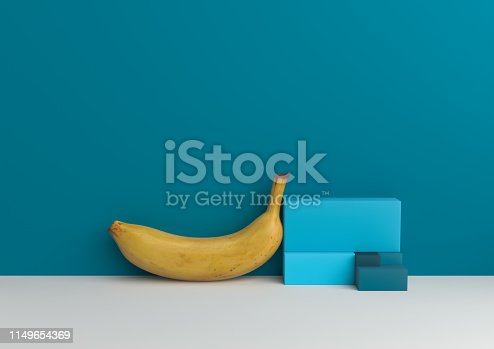 1049530612 istock photo Podium in abstract Naturalist palette ranges composition, Minimal concept, 3d render 1149654369