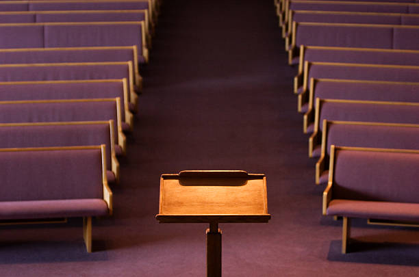 podium Speakers chambers pulpit stock pictures, royalty-free photos & images