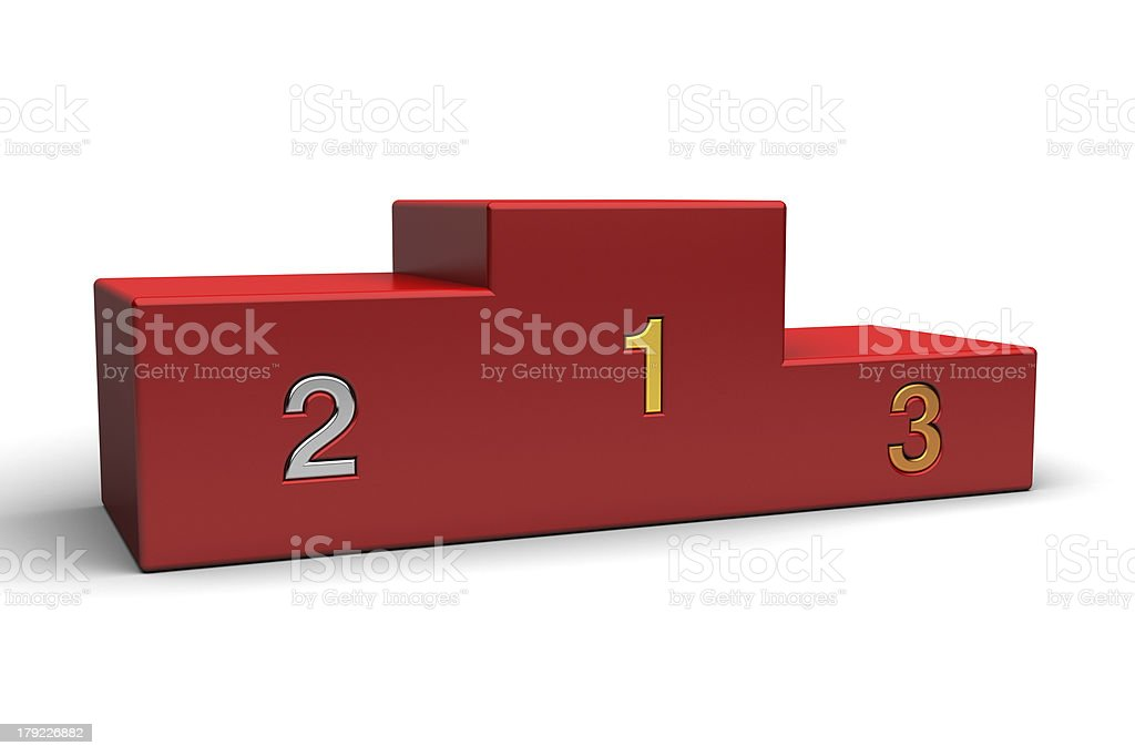 podium royalty-free stock photo