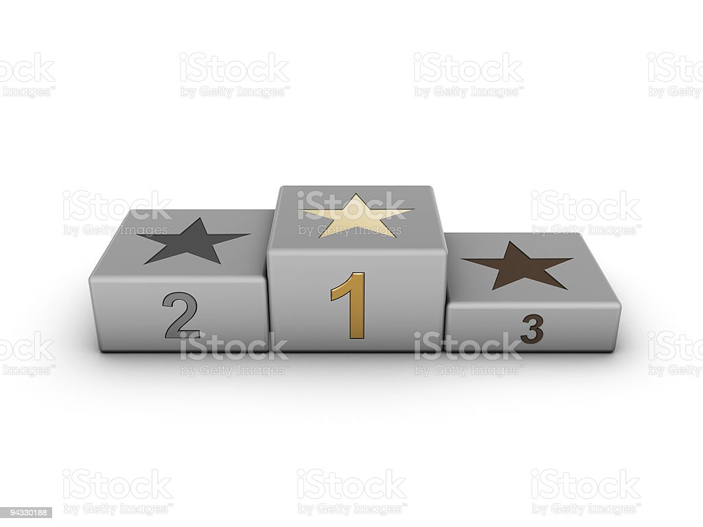 Podium royalty-free stock photo