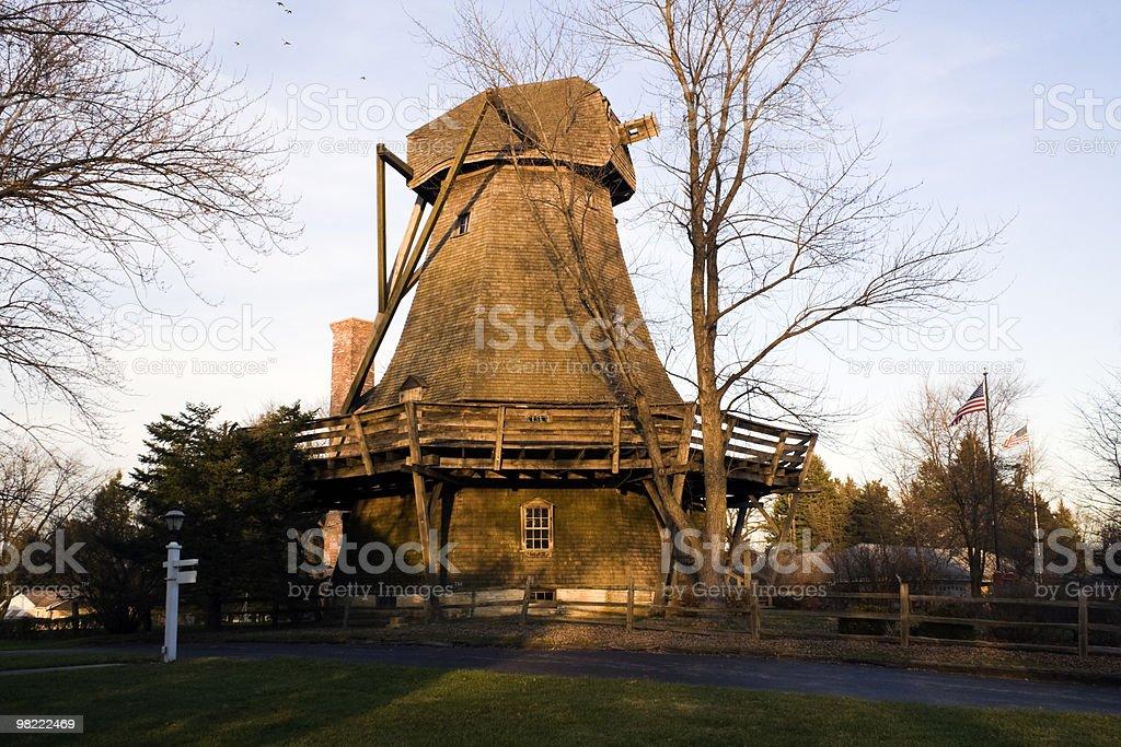 Poetone Windmill royalty-free stock photo
