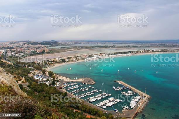 Photo of Poetto beach, Cagliari, Sardinia, Italy