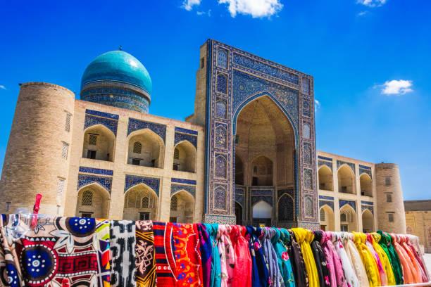 Po-i-Kalan oder Poi Kalan Komplex in Buchara, Usbekistan – Foto