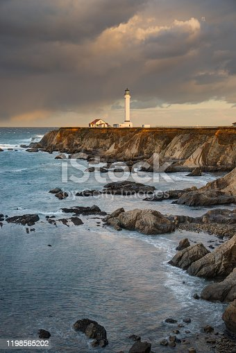 Taken at the Point Arena Headland and Lighthouse.  Located south of Mendocino, California along the northern California coast.