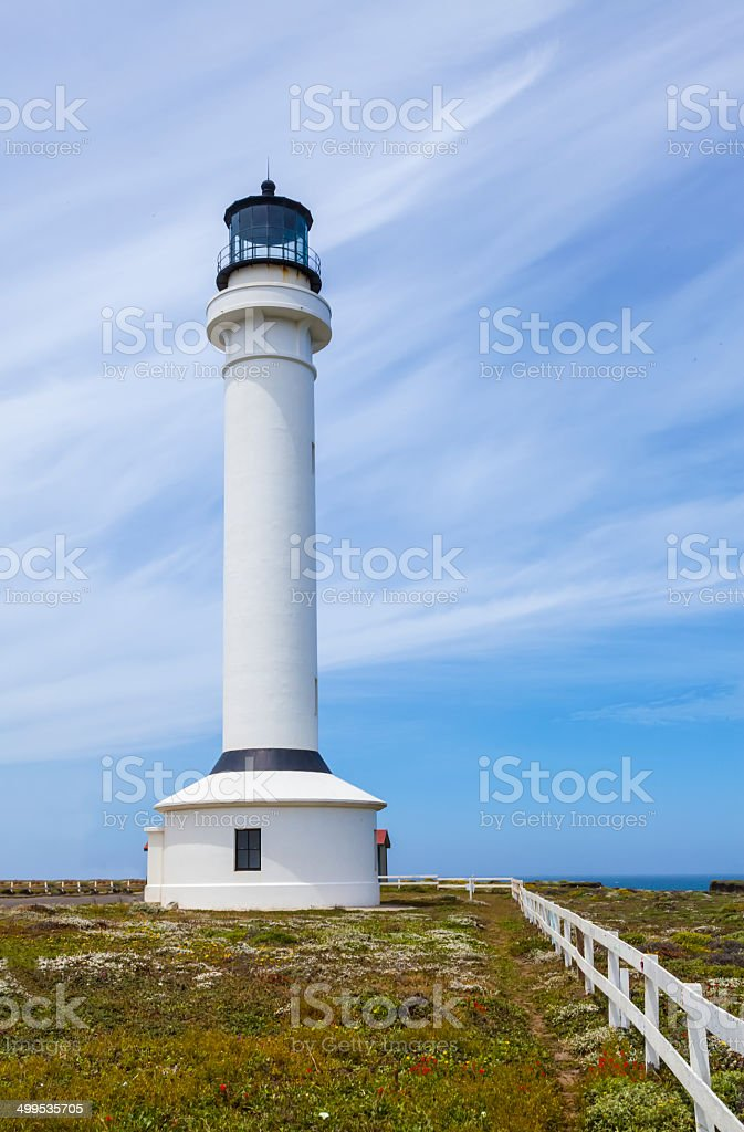 Point Arena Lighthouse stock photo