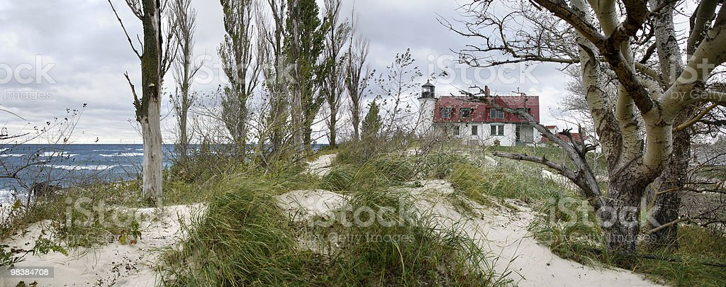 Point Betsie Lighthouse royalty-free stock photo
