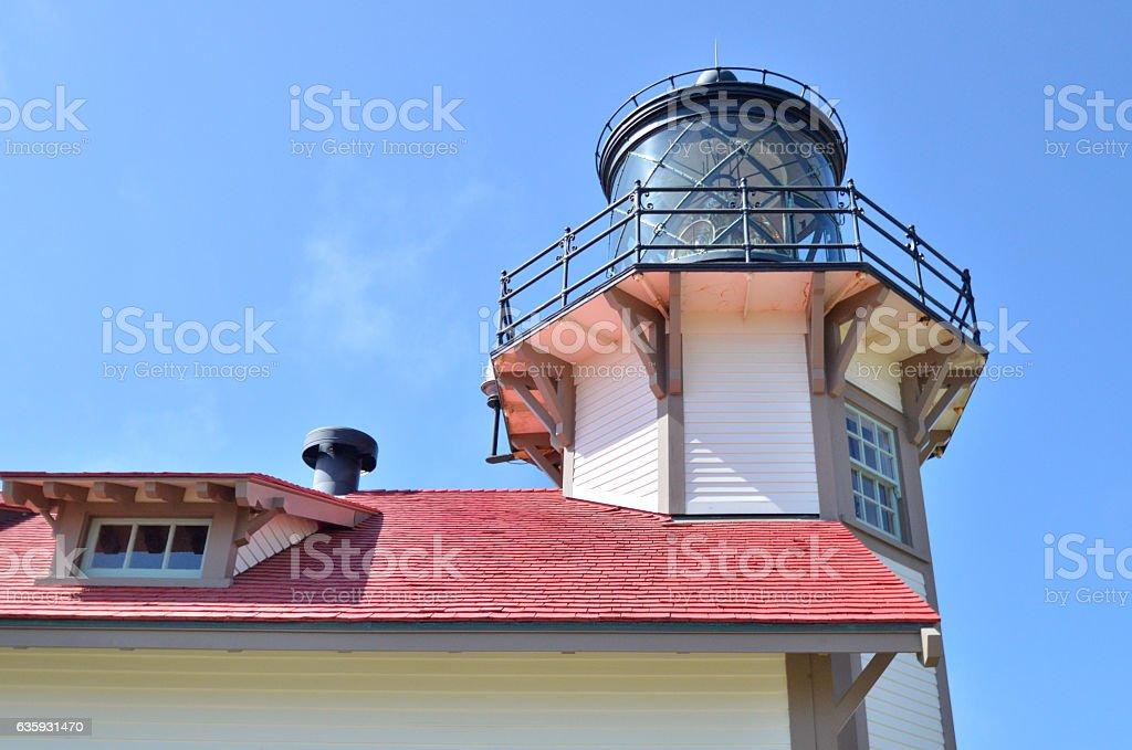 Point Cabrillo Light Station stock photo