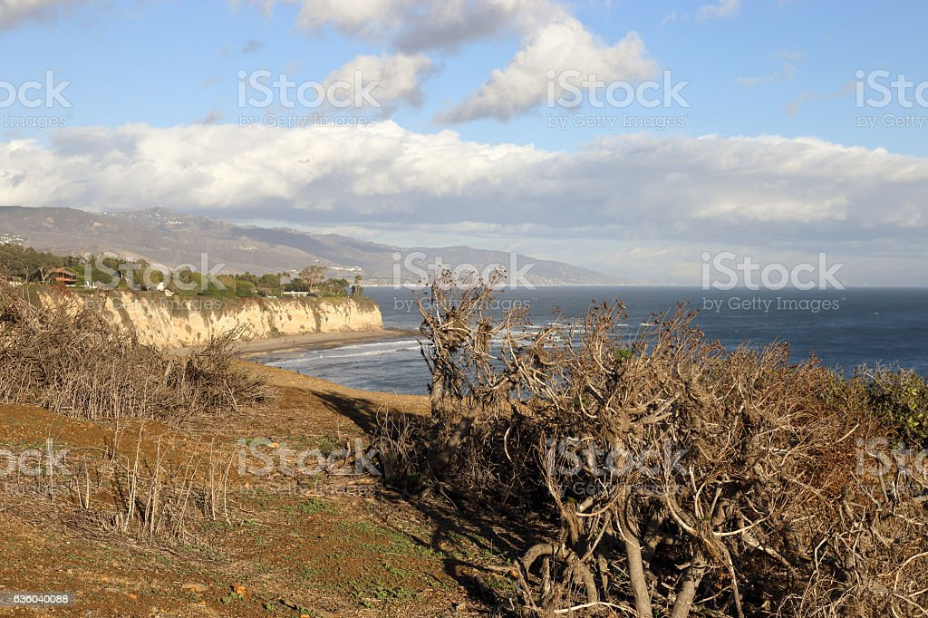 Point Dume stock photo