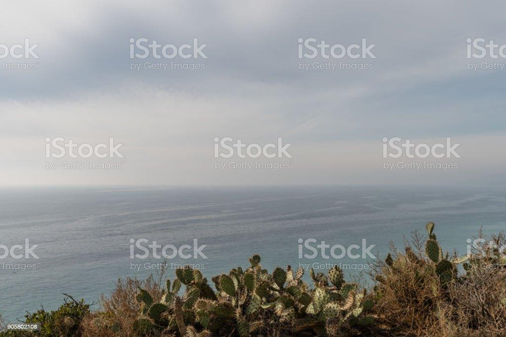 Point Dume vista, Malibu, California stock photo