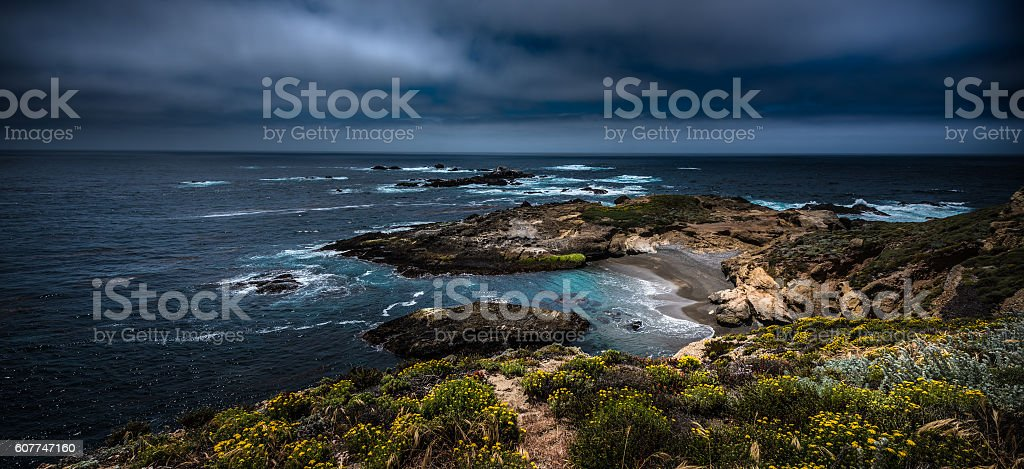 Point Lobos State Park California stock photo