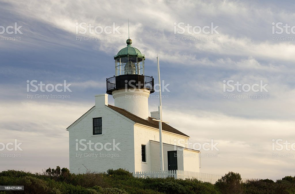 Point Loma Lighthouse royalty-free stock photo