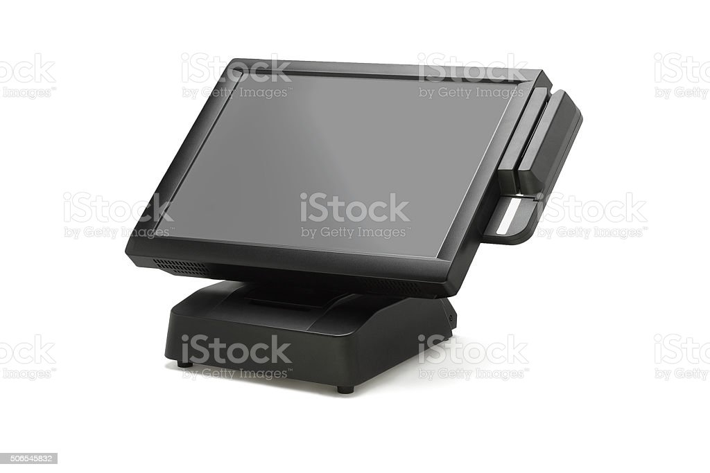 Point Of Sale System stock photo
