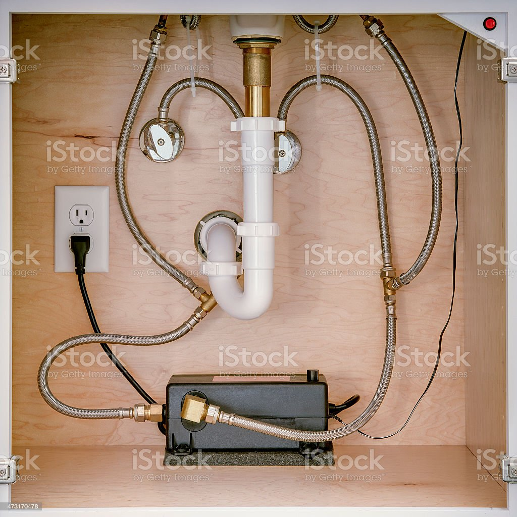Point Of Use Undersink Residential Hot Water Recirculation