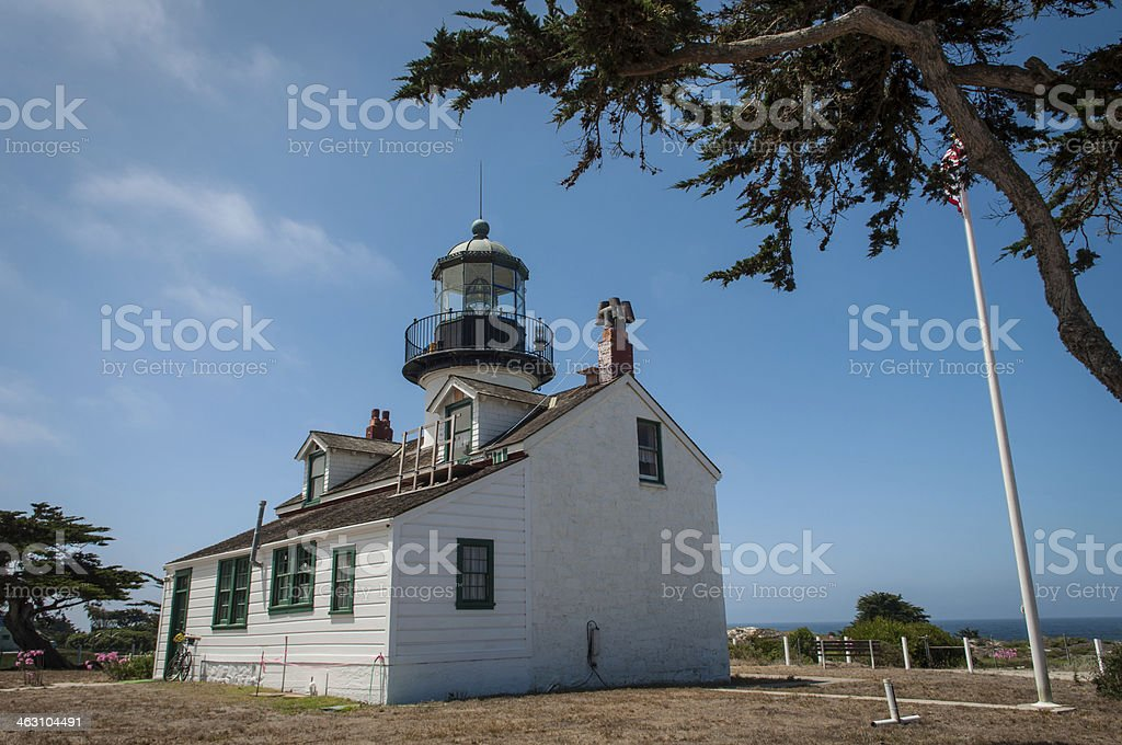 Point Pinos Lighthouse stock photo