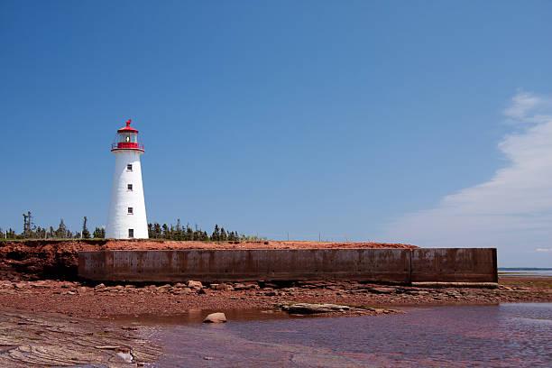 Point Prim Lighthouse stock photo