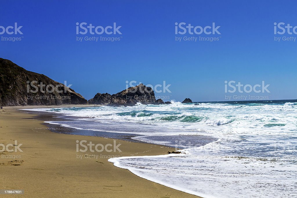 Point Reyes California National park Pacific Ocean scenic royalty-free stock photo