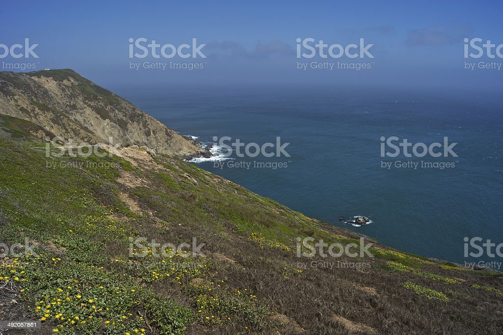 Point Reyes Epic Water stock photo