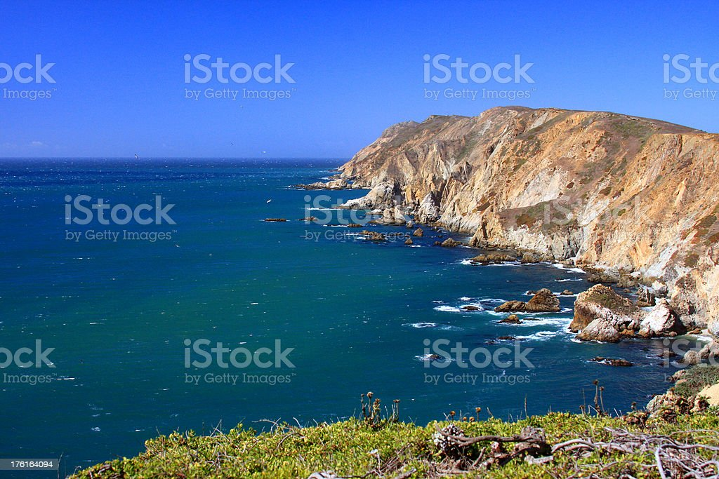 Point Reyes National seashore in California royalty-free stock photo