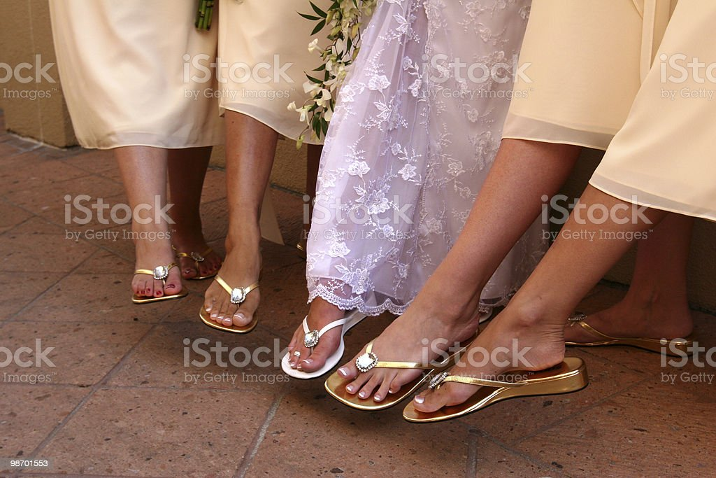 Point those toes! royalty-free stock photo