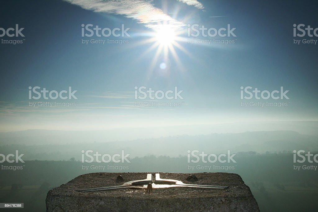 Point to the Sun royalty-free stock photo