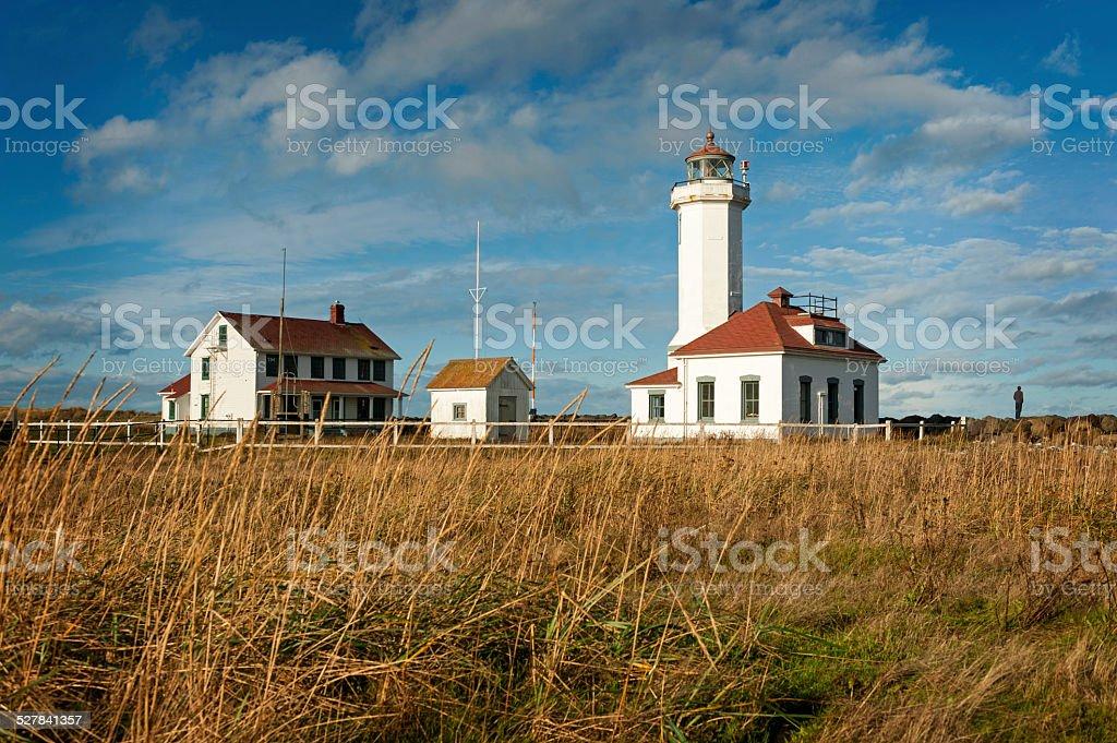Point Wilson Lighthouse stock photo