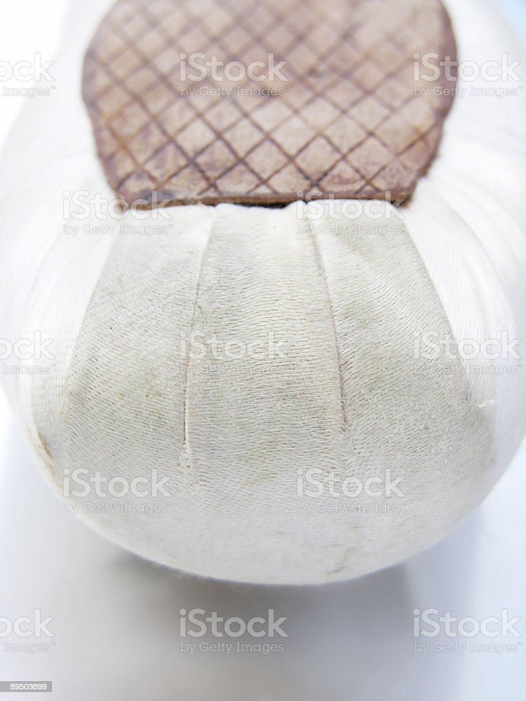 Pointe Shoe Detail royalty-free stock photo