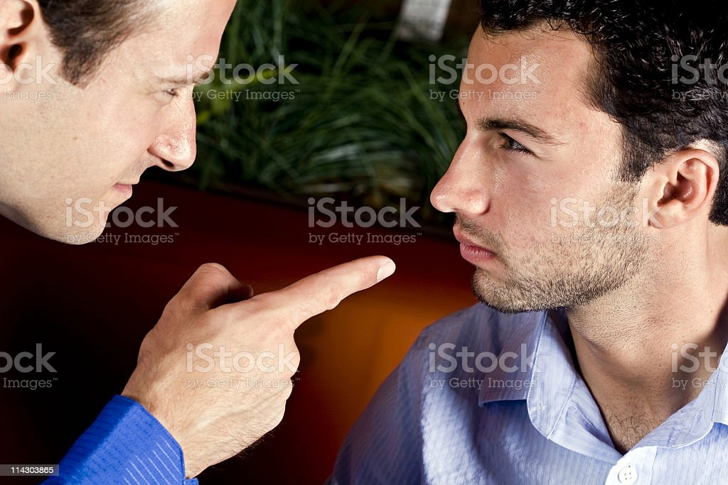 Pointed Argument royalty-free stock photo