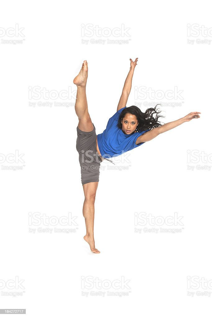 pointed toes royalty-free stock photo