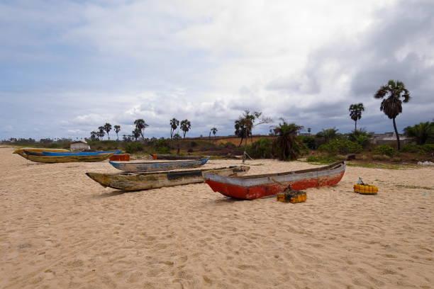 pointe-noire beach - congo - republic of the congo stock photos and pictures