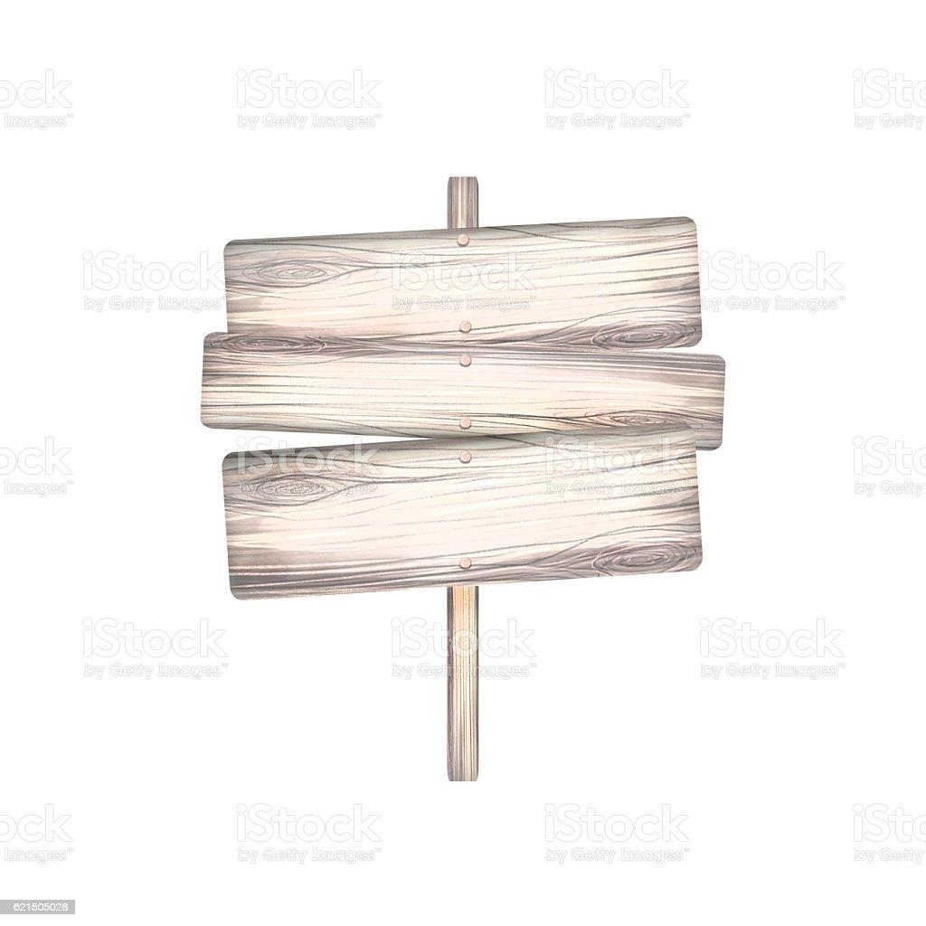 Pointer wooden planks photo libre de droits