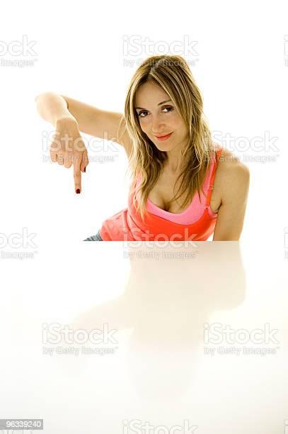 Wskazywać - zdjęcia stockowe i więcej obrazów Białe tło