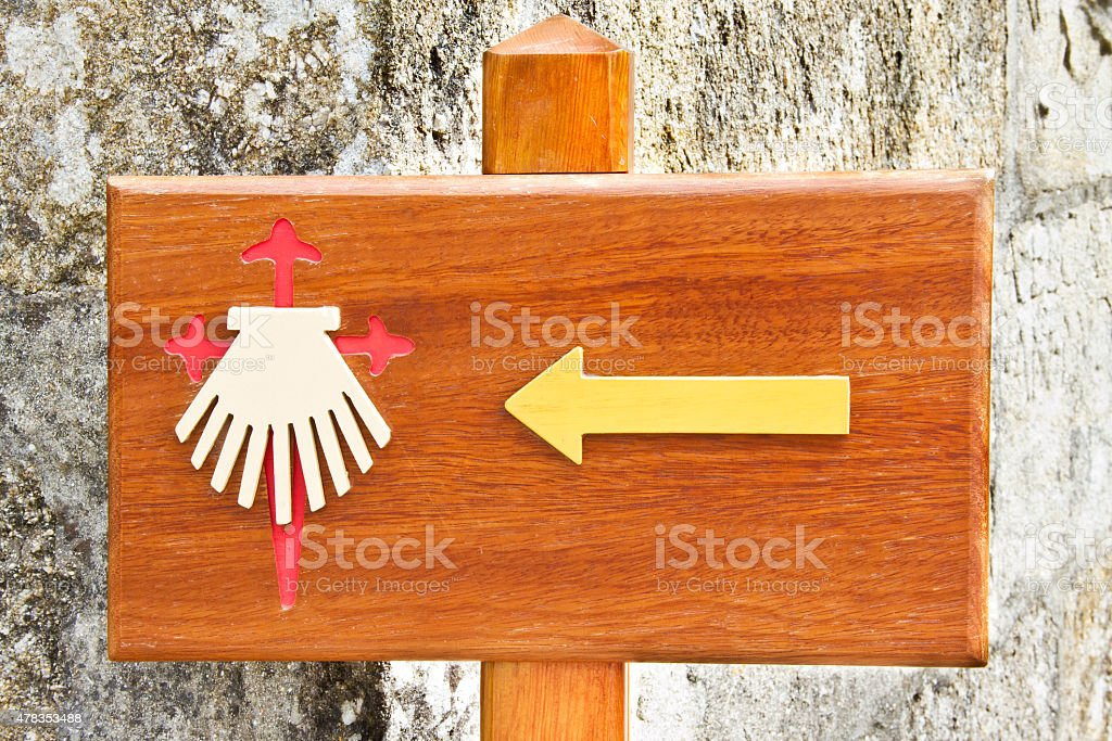 Pointing the Way royalty-free stock photo
