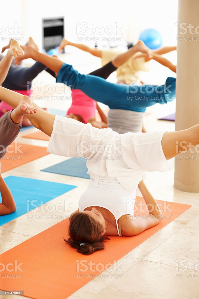 Poise and posture royalty-free stock photo