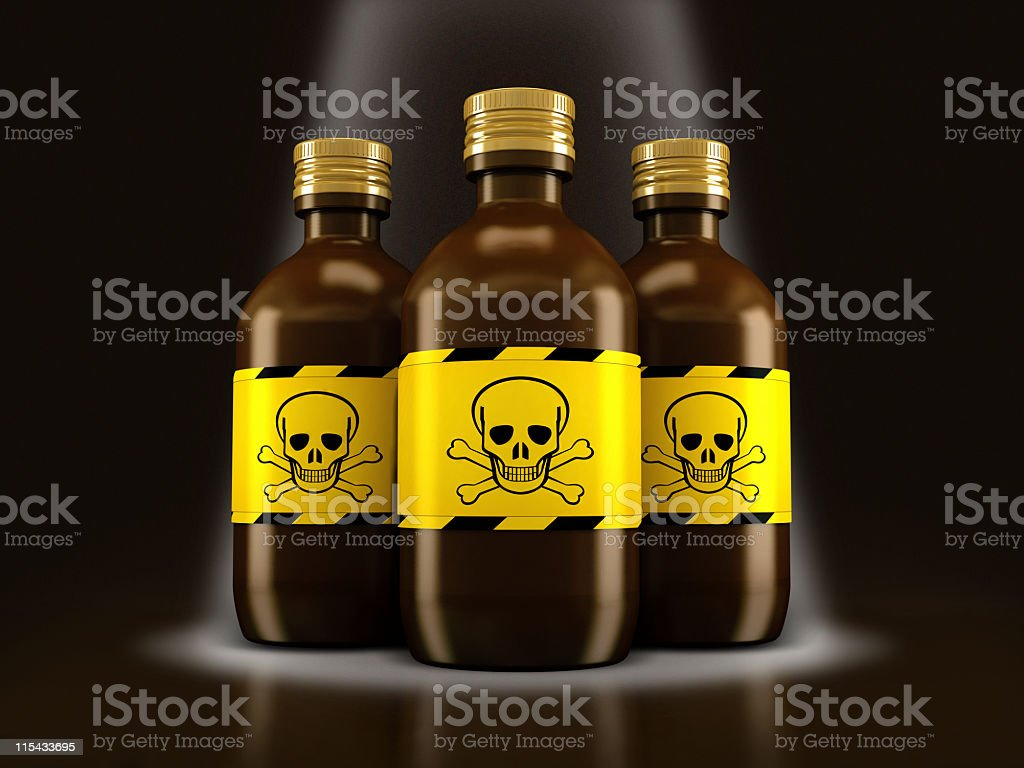 Poison royalty-free stock photo