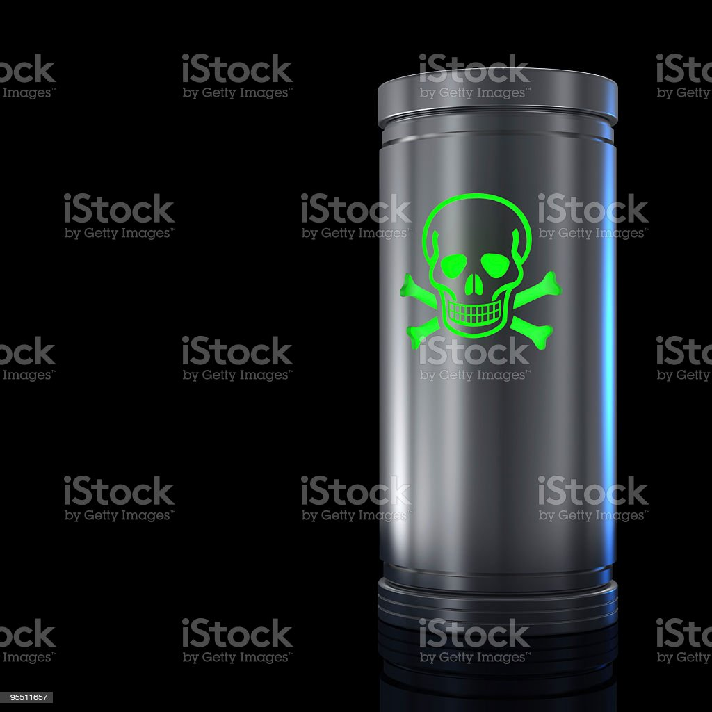 Poisonous substance royalty-free stock photo