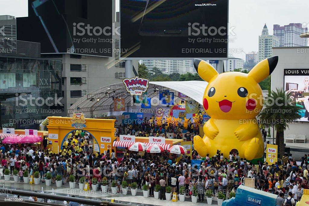 Pokemon Festival stock photo