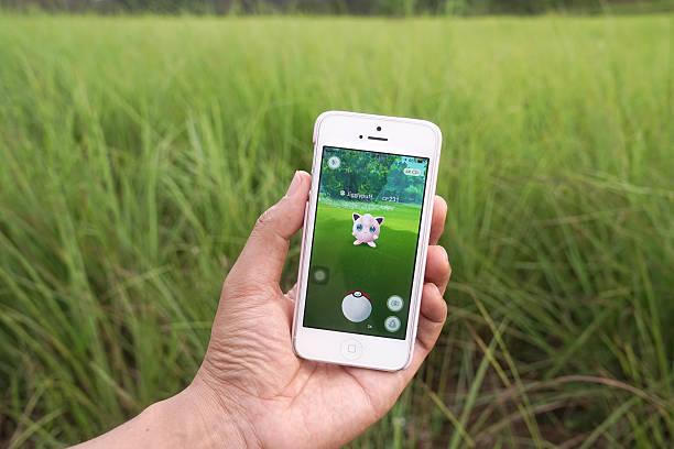 pokemon go - jigglepuff (fairy pokemon) - pflanzen pokemon stock-fotos und bilder
