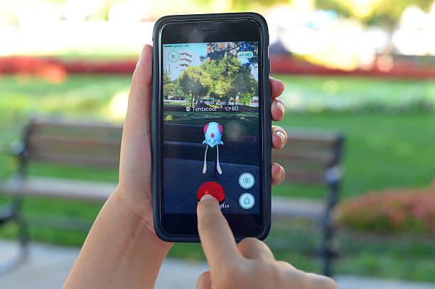 pokemon go - pflanzen pokemon stock-fotos und bilder