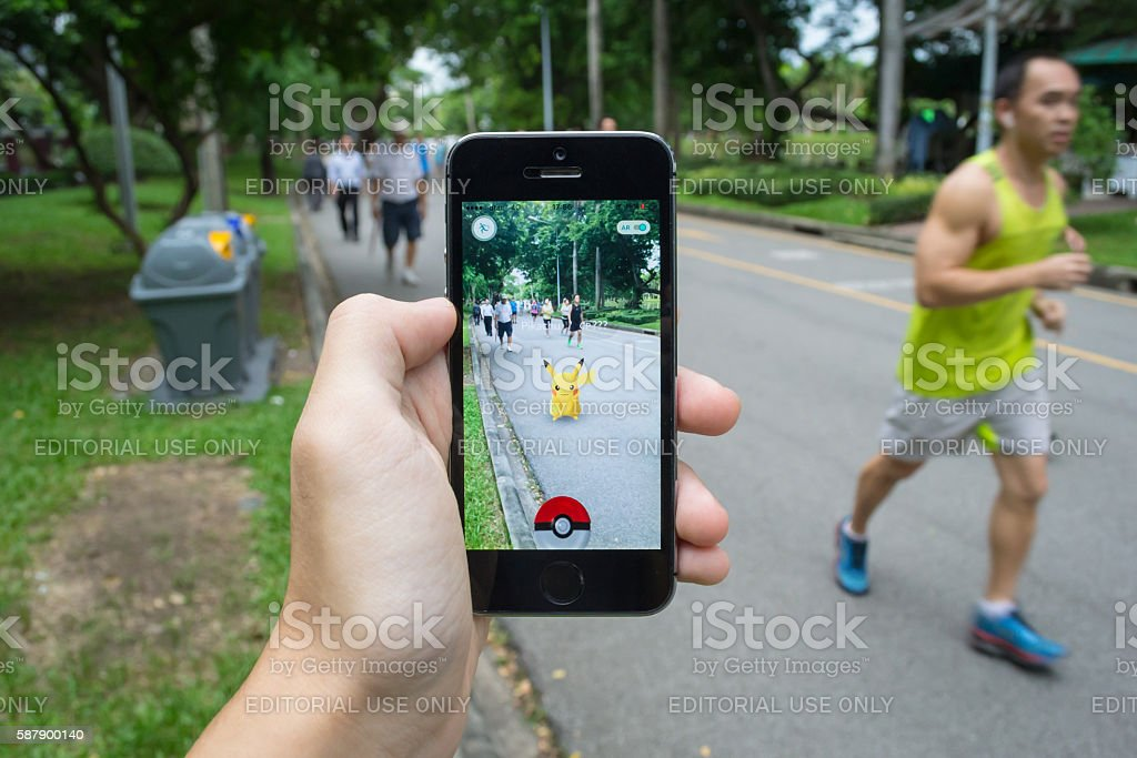 Pokemon Go stock photo