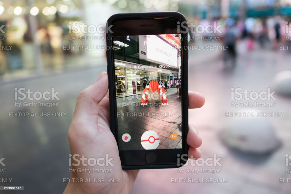 Pokemon Go stock photo