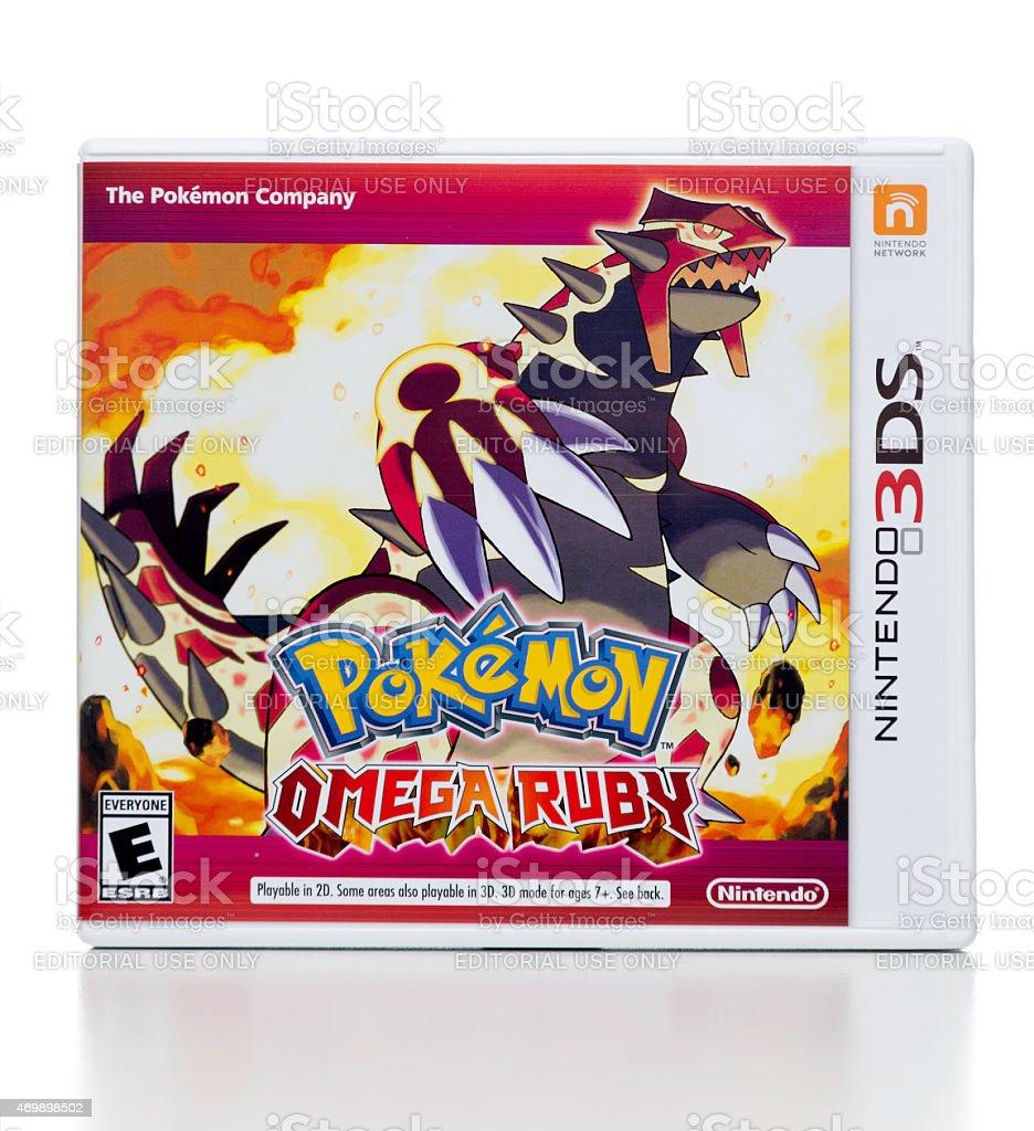 Fotografia De Pokemon Ruby De Omega Juego Para Nintendo 3ds Y Mas